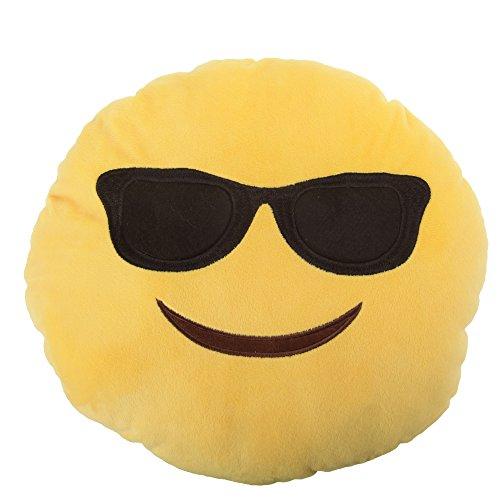 Coussin smiley - Enfant (Taille unique) (Lunettes de soleil)