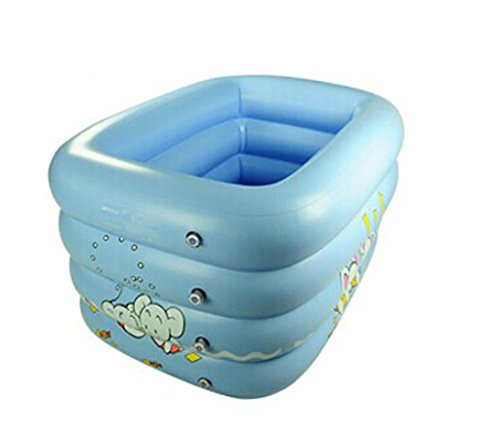 ZHDC® Baignoire gonflable, piscine enfant bébé Épaisseur des ménages Play pool Baignoire baignoire pliante Pliage, pratique