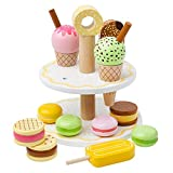 Bigjigs Toys Dulces de madera Set Play Food