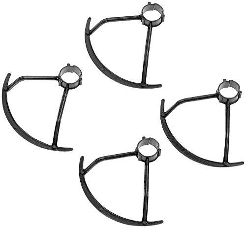 PEARL Zubehör zu Drohnen faltbar Kamera: Rotorenschutz-Set für Mini-Quadrocopter GH-44.Mini, 4-teilig (WiFi-FPV-Quadrocopter)