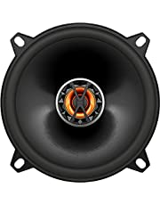 JBL Club 5020 In-Car 5.25-Inch (13 cm) 2-Way Coaxial Stereo Speakers - Black (Pack of Two)