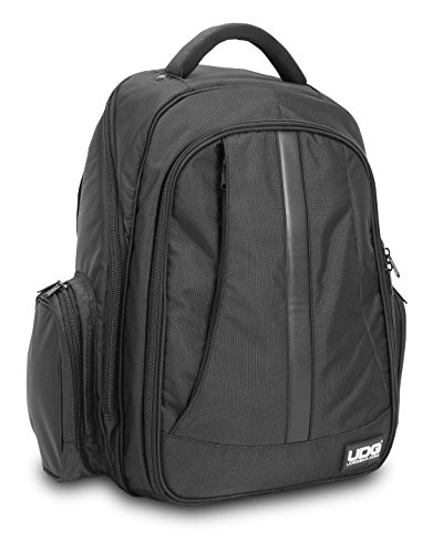 UDG U9102BL/OR BackPack - Mochila para dj, color negro y nar