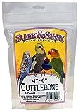 SLEEK & SASSY NUTRITIONAL DIET Cuttlebone (4' - 6') for Birds (3 Ct.)