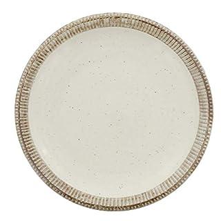 テーブルウェアイースト (渕錆粉引) ディナープレート 大皿 皿 パスタ皿