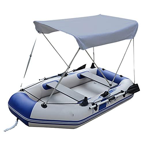 FUMENG Cubiertas para Arriba Tapa para el Tapa de la Sombra Paño de Sol a Prueba de Sol a Prueba de Rayos UV Resistente a los UV Paño de Oxford de Alta presión para Kayak Barco yate