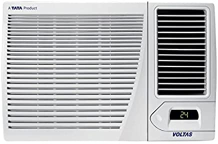 Voltas 1.5 Ton 3 Star Window AC (Copper, 183CYA/183 CZP, White)