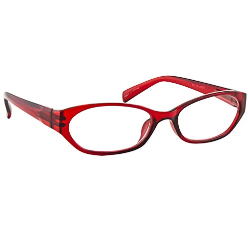 Fashion Reading Glasses 3.75 Single Red (1 Pair) F502 TruVision Readers