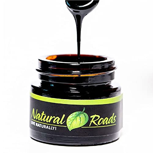 Shilajit Resin from The Himalayan , Fulvic Acid with Trace Minerals, Organic Minerals. Natural Product, US Lab Tested (1-2 Month Supply Comes with a measurable Spoon)- Immune System Booster