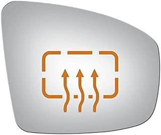 Passenger Side Replacement Mirror Glass Heated for Infiniti EX35 EX37 FX37 2008-2013, FX35 FX50 09-13, QX50 2014 2015 QX70 2014-2017 Nissan Murano 2009 2010 2011 2012 2013 2014