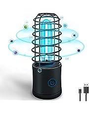 UV-desinfectie Lamp Draagbare 254nm Ultraviolet Germicidal Sterilisatie Licht USB Oplaadbare UVC Ozon Anti-Bacteriële Ontsmettingsmiddel Lamp