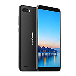 Ulefone S1 (2019) Smartphone ohne Vertrag Günstig 5,5 Zoll Dual SIM Handy, GPS/WiFi/Face ID/Bluetooth - Schwarz