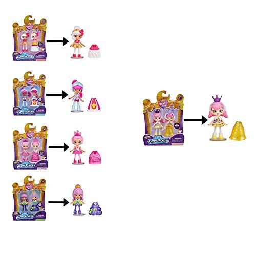 HAPPY PLACES Shopkins Royal Trends Queen Behave, Cupcake Queen,...