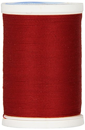 COATS & CLARK S910-2250 Dual Duty XP General Purpose Thread, 250-Yard, Red