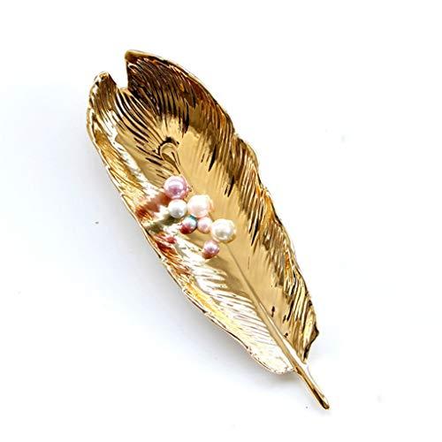 Aiglen Bandeja de joyería para mujer, tocador, objetos pequeños, para joyas, anillos, bandeja de almacenamiento (color: B)