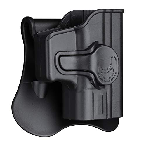 Springfield XD Subcompact Holsters, OWB Holster for Springfield Armory XD9 3' / Springfield XD40 3' - Index Finger Released | Adjustable Cant | Autolock | Outside Waistband | Lightweight -Right Handed