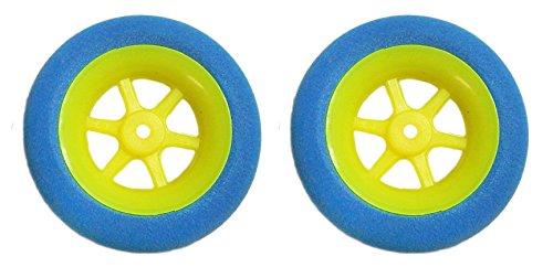 Arkai 2 neumáticos superligeros de 40 mm de diámetro para bujes de hasta 3 mm.