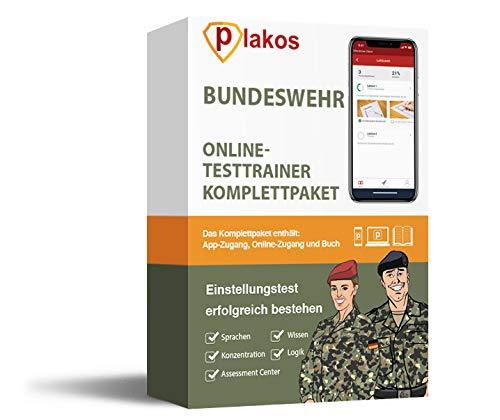 Bundeswehr Einstellungstest 2020 Online-Testtrainer mit Buch | Eignungstest erfolgreich bestehen | 2500 Aufgaben mit Lösungen: Erfahrungsbericht, Sport, Computertest, Mathe, Allgemeinwissen