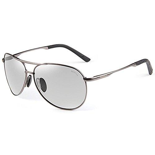 Bertha Men's Photochromic Polarized Outdoor Sports Sunglasses Eyewear...