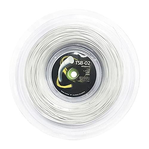 Tennis String-Vengeance Polyester String-1.25mm String 200m Tennisracket Net by ROYAL STAR TY