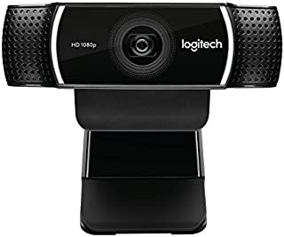 Webcam Full HD C922 para Chamadas e Gravações em Video Widescreen 1080p com Tripé Incluso e Tecnologia Background Replacement para YouTube ou Twitch Streaming, Logitech, Webcams e Equipamentos de Voip