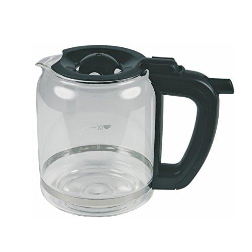 Unold 2801640 ORIGINAL Glaskanne Kanne Kaffeekanne Krug 2-10 Tassen 133mmØ 161mm für Onyx 28016 Piano Kaffeemaschine Filterkaffeemaschine