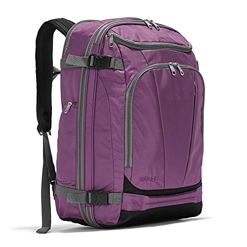 eBags TLS Mother Lode Weekender Convertible Carry-On Travel Backpack - Fits 19 Inch Laptop - (Eggplant)