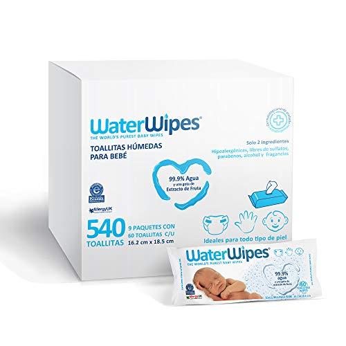 toallitas humedas agua fabricante WaterWipes