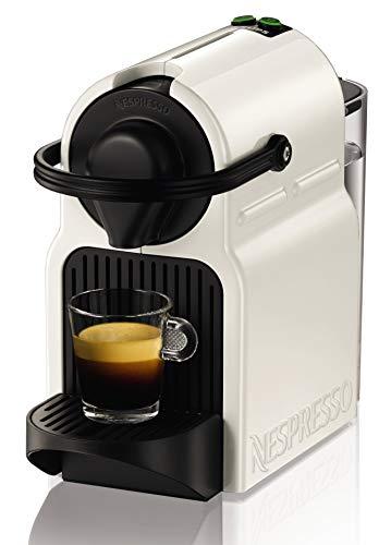 Nespresso Krups Inissia XN1001 - Cafetera monodosis de cápsulas Nespresso, 19 bares, apagado automático, color blanco (Reacondicionado)