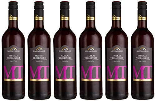 Württemberger Wein Remstal Muskattrollinger QW halbtrocken (6 x 0.75 l)