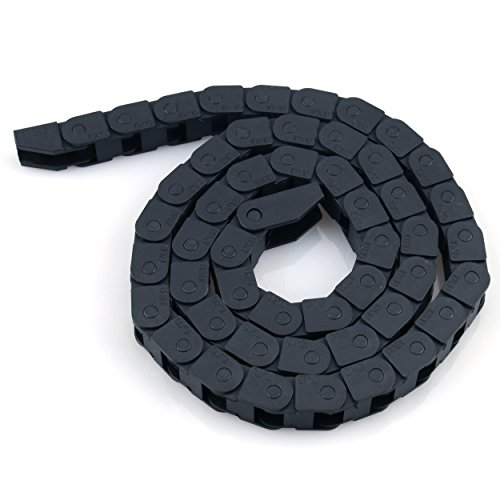 Cable Drag Chain URBEST 10 x 10mm Towline Wire Carrier 1 M/ 33Ft Plastic Semi Enclosed Machine Tool