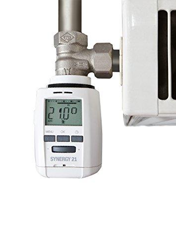 Preisvergleich Produktbild ALLNET S21-RM004 Heizkörperthermostat / Energiesparregler,  weiss