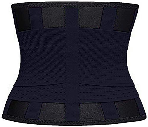 W88angchuangqiu Adelgazante Cinturón Cinturón Cintura Cintura Cintura Cinturón Trainer Cinturón for Mujeres Pérdida de Peso Ajustable Sauna Shapewear Cuerpo Adelgazante (Color : A, Size : M)
