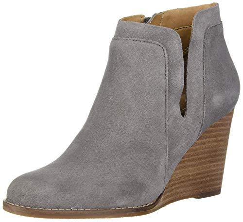 Lucky Brand Women's LK-Yabba Ankle Boot, Titanium, 5.5 M US