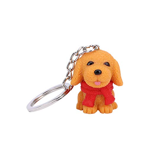 XHYKL mooie hars sjaal Mini hond sleutelhanger sleutelhanger sleutelhanger sleutelhanger mode sieraden liefhebber vrienden cadeau
