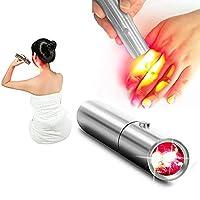 LEDレッドライトセラピーデバイスペン、ポータブルライトセラピートーチレッドライトビューティーペン、鎮痛セラピーデバイス、関節の痛みの軽減、美容、アンチエイジングに適しています