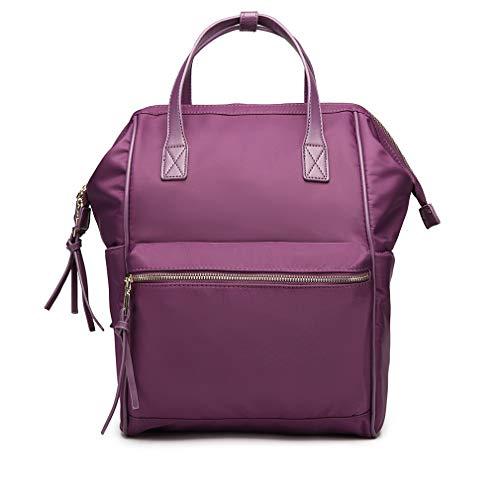 Miss Lulu lichtgewicht reisrugzak, multifunctionele waterdichte nylon schooltas, grote capaciteit duurzame rugzak rugzak past 15 inch MacBook laptop