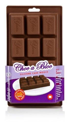 Mustard Choc Un Bloc en Silicone pour Cake/Pain Moule Plaque de Chocolat