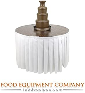 Buffet Enhancements 1BACFT48 PR The American Chocolate Fountain Table 48
