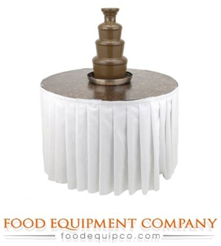 "Buffet Enhancements 1BACFT48 PR The American Chocolate Fountain Table 48"" dia."
