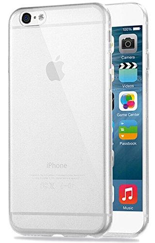 COVERbasics Cover iPhone 6 iPhone 6s (AIRGEL 0.3mm) Custodia Trasparente Slim con Bordo Protezione Proteggi Fotocamera Silicone Gel Gomma TPU Sottile Fina Compatibile con Apple iPhone 6 iPhone 6s