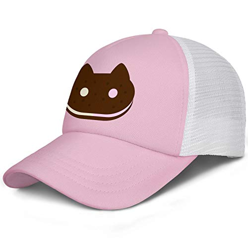 Youth Children Hat Steven-Universe-Cookie-Cat-Sandwich- Cap Adjustable Boys Girls Hiking Caps