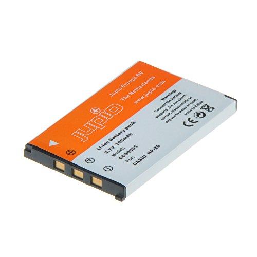 Jupio CCS0001 - Batería para cámara de Fotos Equivalente a Casio NP-20...
