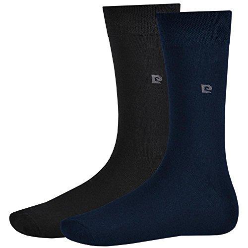 Pierre Cardin 12er Pack Business Socken Schwarz-Navy 39 - 42