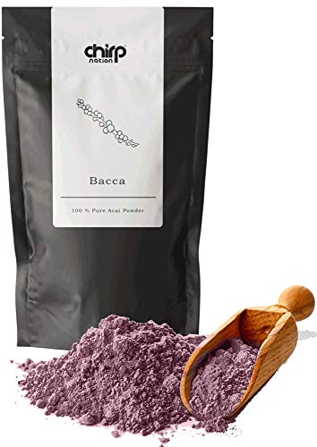 Acai Berry Powder [200g] Organically sourced | Vegan Friendly Superfood by Chirp Nation