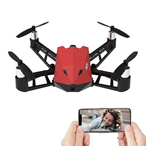ELVVT 20 * 19,2 * 4,1 cm RC 1080 P 8MP WiFi FPV HD Kamera Drohne APP Kontrolle Höhe Halten Optischen Fluss Positionierung 360 Selfie Quadcopter Hubschrauber Spielzeug Geburtstag Kinde
