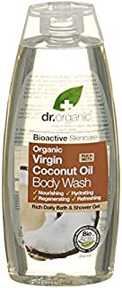 Dr Organic Organic Virgin Coconut Oil Body Wash (Pack of 6) - Dr有機有機バージンココナッツオイルボディウォッシュ (x6) [並行輸入品]