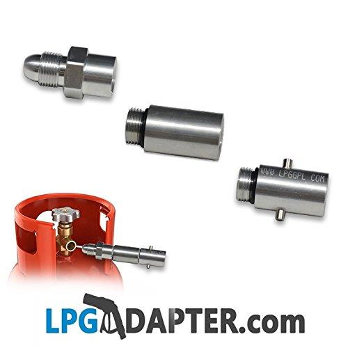 Vulling Autogas Propaan Fles Adapter - UK Fles (voor gebruik met caravan camper koken camper)