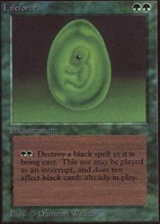 Magic: the Gathering - Lifeforce - Collectors Edition