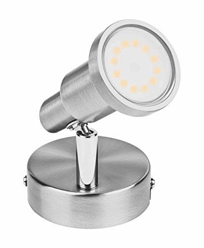 Osram LED Spot Spotlight Leuchte, für innenanwendungen, GU10 Fassung, Warmweiß, 80, 0 mm x 80, 0 mm x 130, 0 mm
