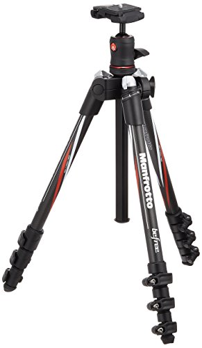 Manfrotto MKBFRC4-BH Befree Carbon Fiber Tripod with Ball Head (Black)